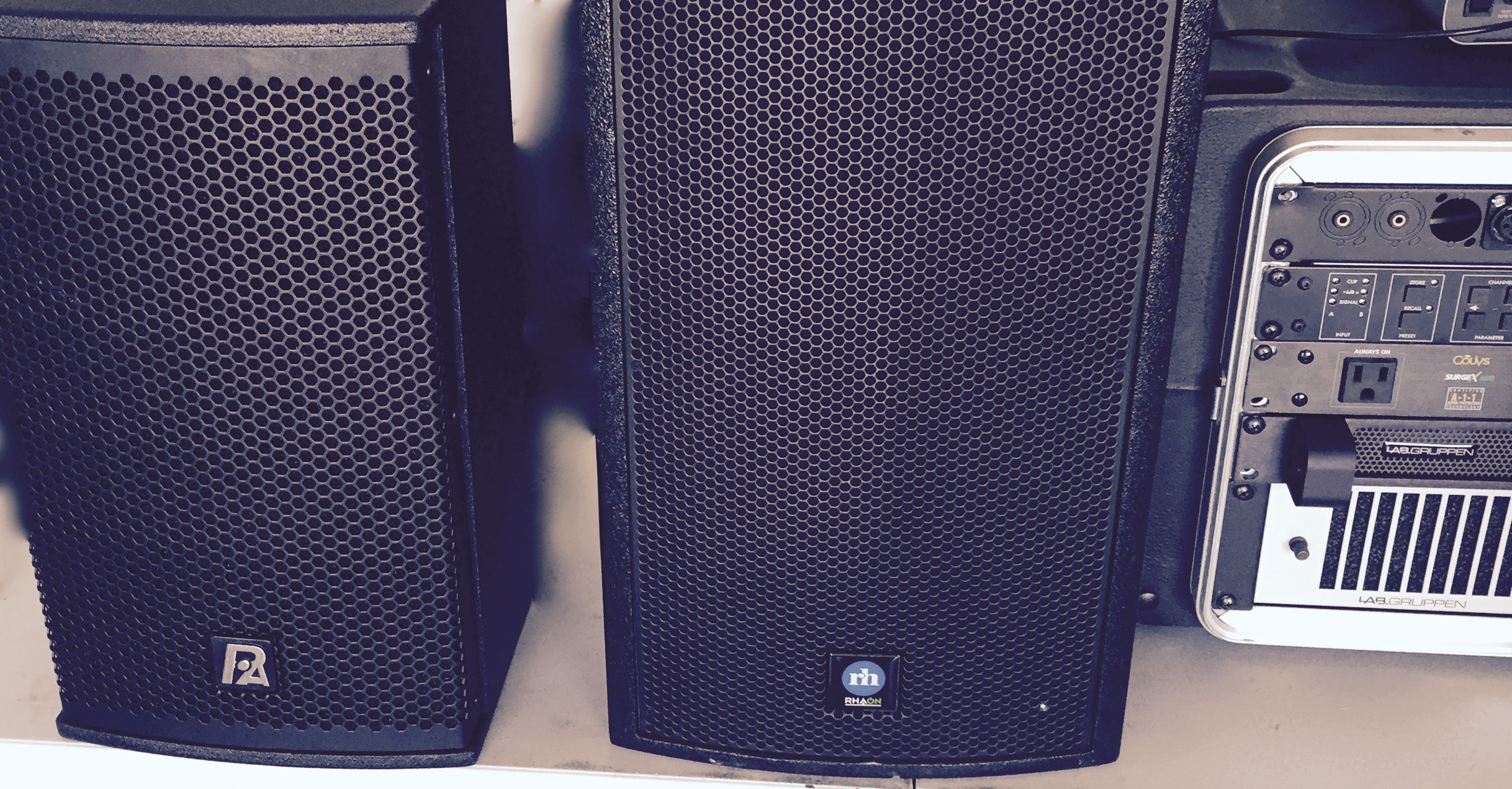 RH and P Audio Speaker Test