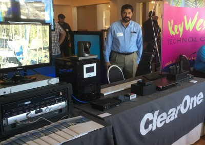ClearOne Product Booth